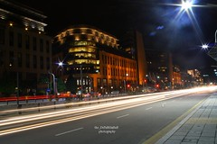 Slowshutter in front of Government Offices (azfar ahmad | thepatahtumbuh) Tags: