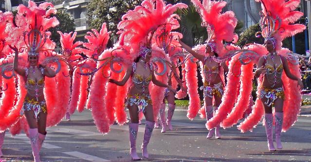 carnival fleur pink walk