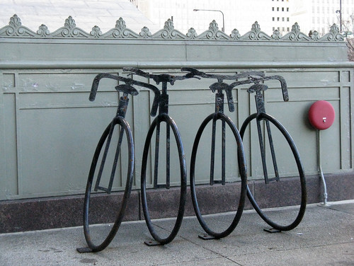 Michigan Avenue Bike Rack