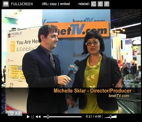 BNetTV Michelle Sklar Stephen King Mob4Hire TechVibes