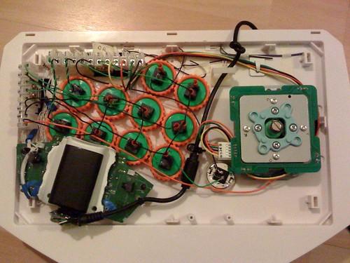 Arcade Stick internal wiring