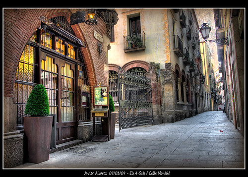 Calle Montsio - 4 Gats