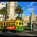 Tram through city - Australia Study Abroad