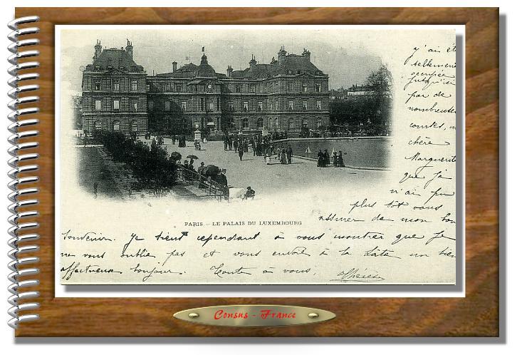 PARIS Le Palais du LUXEMBOURG