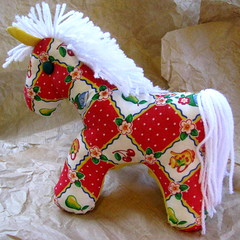 Juanita the Little Horse (neverever) Tags: horse baby animal children toy stuffed handmade sewing craft plush pony etsy neverever madeit