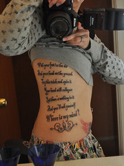 New Ink! (Agent Retro) Tags: tattoo lyrics explore thepixies whereismymind project365 explored ribcagetattoo