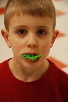 logans new teeth