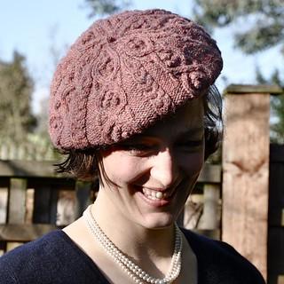 Ravelry: Druidess Beret pattern by Anna Bright