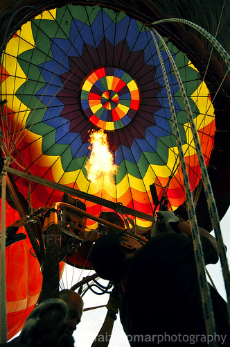 1st Putrajaya Hot Air Balloon Fiesta 2009; Fire UP!