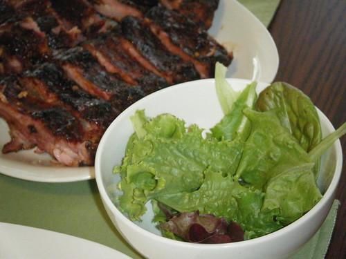 Salad Greens from Aerogarden Pro200