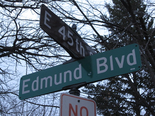 Edmund Blvd at E 45th St