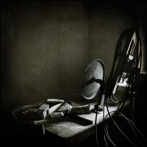 Communication  room by Christophe Regnaud [Urbex/Nature].