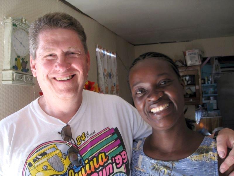 Judith and I