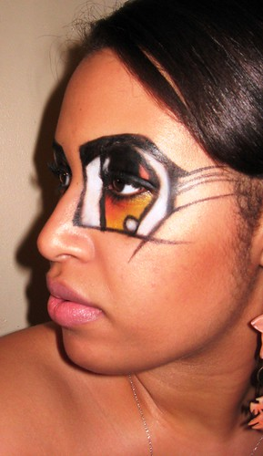 Old Halloween MAC face chart called Art Tart