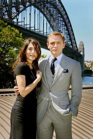 Daniel Craig and Caterina Murino promote Casino Royale in Sydney