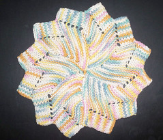 Windmill Dishcloth - MidMarch KAL