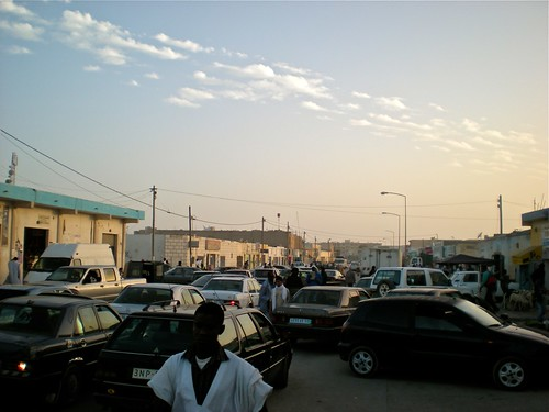 Nouadhibou traffic madness