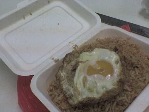 Eco Pack IIUM Nasi Goreng Telur Mata