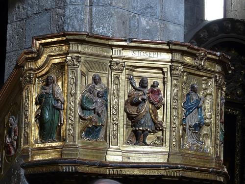 Detalle del Púlpito de la Epístola