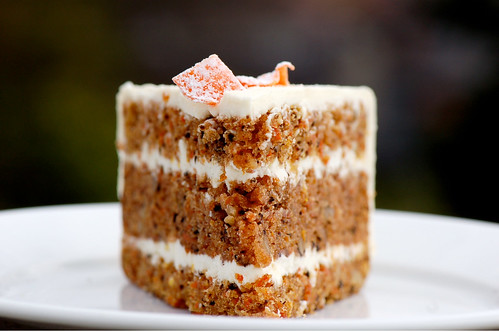 Photo c/o K. Morales, Carrot Cake from Macrina