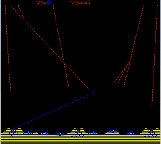 Missile Command screenshot