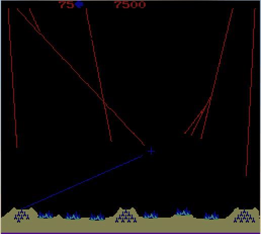Missile Command screenshot