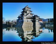 Castelo De Matsumoto (♫ Photography Janaina Oshiro ♫) Tags: castle água digital castelo japão história blueribbonwinner platinumphoto nikond90 lensers