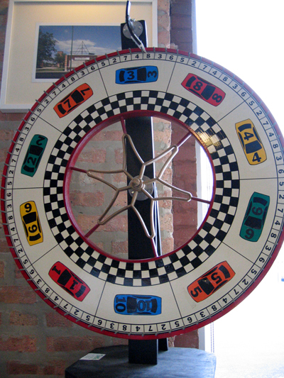 Spin the Dusty Groove Wheel