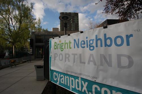 CYAN/pdx Bright Neighbor