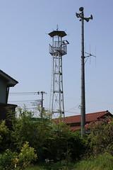 府川の火の見櫓(川越市)