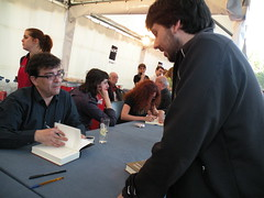 Firma de Javier Cercas
