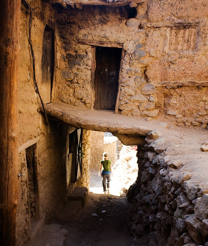 Berber Village, High Atlas, Morocco