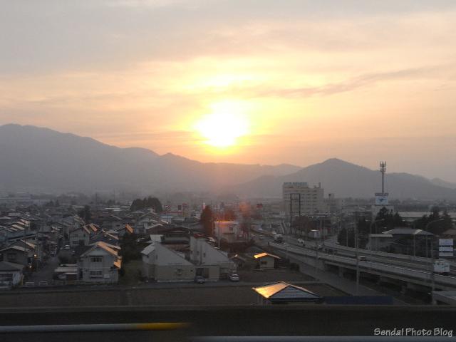 Sunset Over Sendai