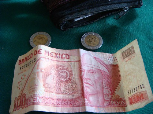 Mexican money...