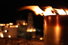 The Night of the Epitaph in Pyrgos (Klearchos Kapoutsis) Tags: easter santorini greece cyclades epitaph greekorthodoxeaster pyrgos  orthodoxeaster