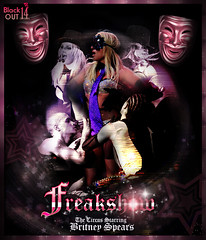Freakshow - The Circus Starring: BS (Blαckout14*) Tags: color sexy me photoshop toy soldier for photo paint foto fuck you spears circus it gimme more again bitch singer cs oops montaje did piece blackout diva britney brit bit starring slave prerogative womanizer colorización
