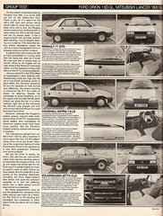Mid Range Diesel Saloons Group Test 1985 5 (Trigger's Retro Road Tests!) Tags: test ford car magazine volkswagen diesel d group 1600 orion what jetta 1800 16 1985 range lancer mid cl mitsubishi peugeot ld astra vauxhall gl 305 saloons gld