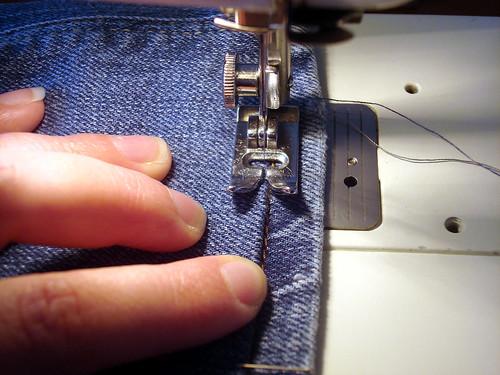 Anleitung zum kürzen von Jeans