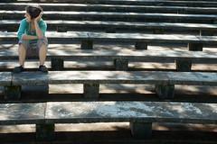 Girl thinking - garota pensando (mariamapalhares) Tags: places lugares construccin predios construcion espaos contruo speces biuding