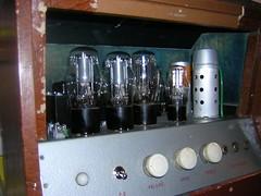 Teisco model #5 amp control panel (sano12) Tags: amps teisco