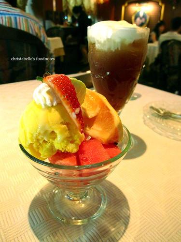特香齋甜點冰淇淋與冰奶茶