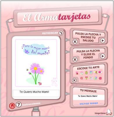 crear tarjetas para dia de las madres