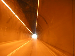 Drive into the light.... (Ran Dell's) Tags: tunnel i80