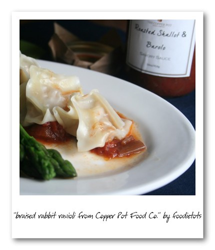 copper pot food co ravioli