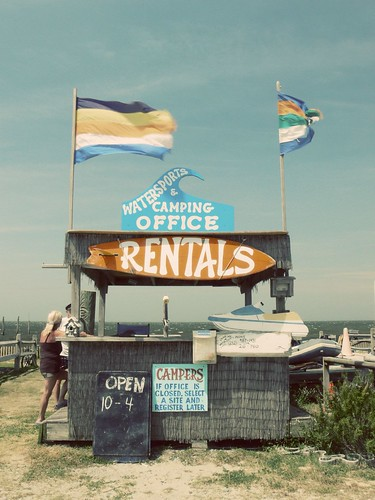 Camping in Rodanthe