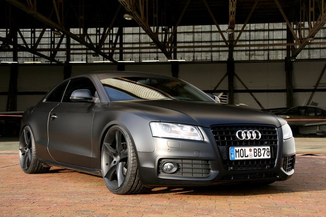 black matt audi a5 coupe schwarz s5 mattschwarz denisgv