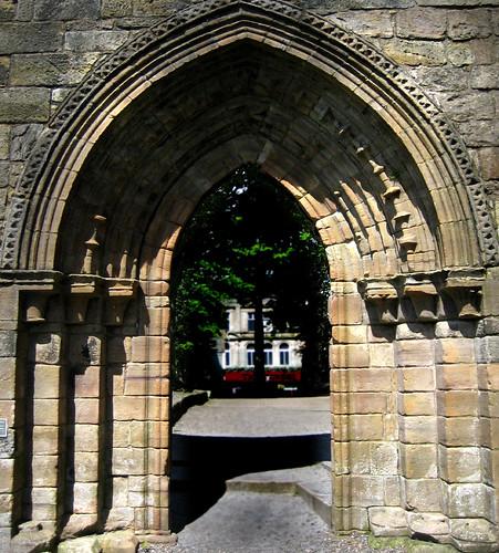 Kilwinning Abbey arch