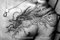 Starasian Tattoo Art - Dragon Denis3 (starasian-tattoo) Tags: paris france japan tattoo ink asian azn japanese vietnamese dragon thanh bodyart bodmod japonais samourai asiatique tatouage asiatiques vietnamien starasian