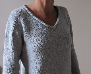 Knitting Patterns For Rowan Summer Tweed : Ravelry: Simple Summer Tweed Top Down V-Neck pattern by Heidi Kirrmaier