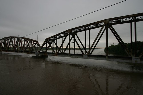 River crossing in southern Louisiana.